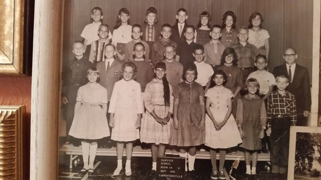 I have attached a 6th grade class photo from Fairview.  I think everyone that lived on one side of Robin Rd ended up at Crown and the other side went to Dundee.  Tim and Tom McNamee are in this pic.  Tim was the attorney in CVille that was shot to death.  I think I heard Tom has since passed also.  Sad!  Anyways, thought you may want to
